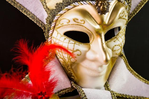 ベネチアのカーニバルマスク