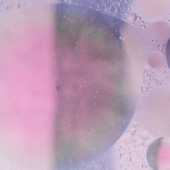 抽象的なピンクバブルの背景