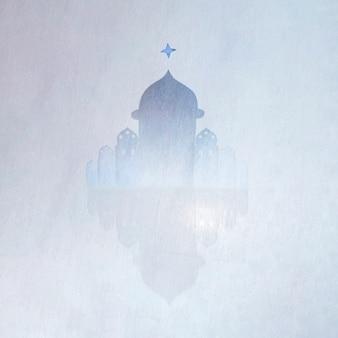 霧の中のタワー