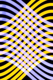 ネオン管のシームレスな波のパターン