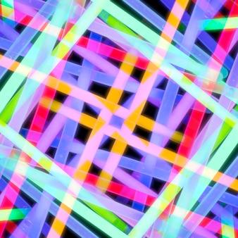Бесшовный абстрактный флуоресцентный свет лишен