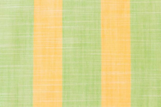 リネン生地の縞模様の背景