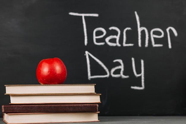 教師の日の碑文