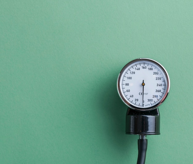 アネロイド血圧計のダイヤル