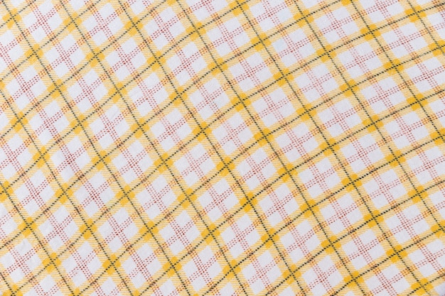 シームレスなタータンパターンのファブリックの背景