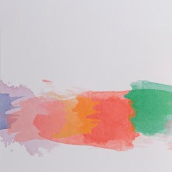 抽象的なデザインと現代の水彩の背景