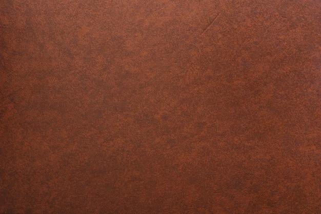 茶色の革の背景のフルフレームショット