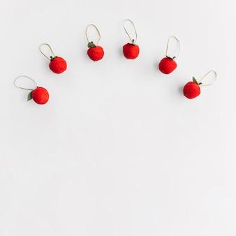 小さなリンゴのクリスマスの組成
