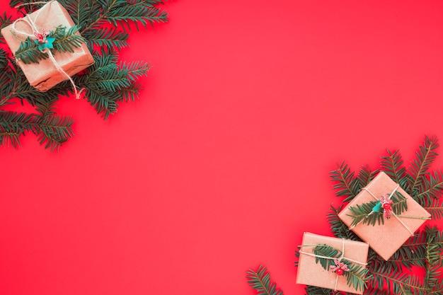 ブランチ付きクリスマスギフトボックス