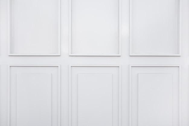 Белый фон стены