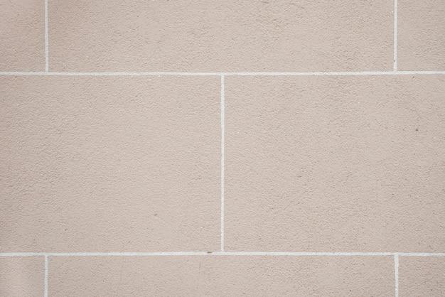 灰色のブロックの壁