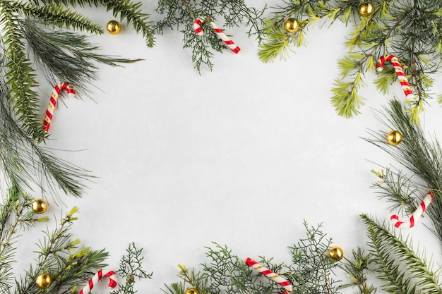 キャンディー・キャン・ブランチのクリスマスの組成