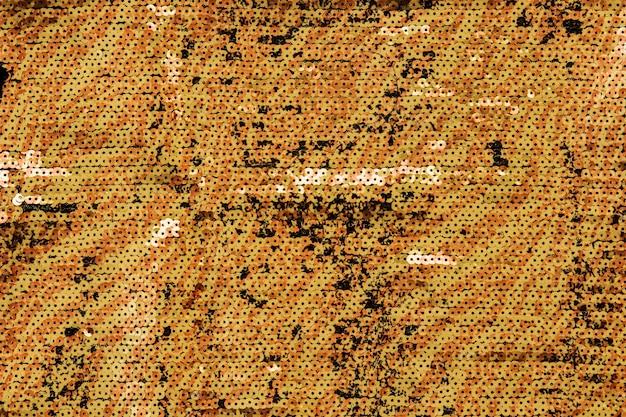 黄色のスパングルの背景