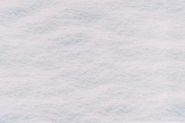 白い雪のテクスチャの背景