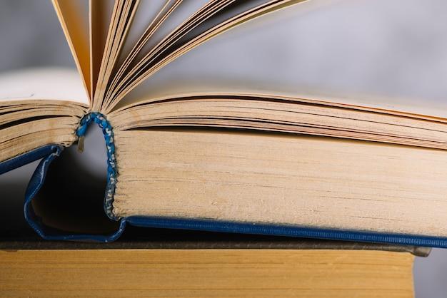 Открытая книга с открытым видом