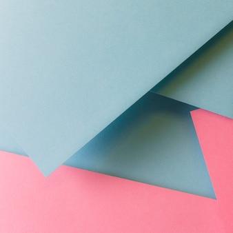 柔らかい幾何学的な紙の背景
