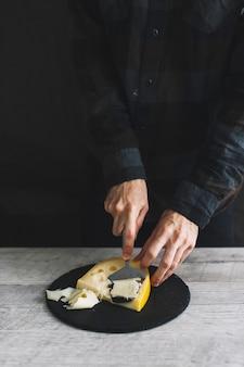 格子チーズ