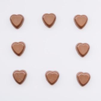 甘いチョコレートのセット