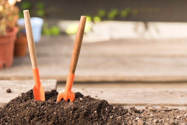 土壌のツール