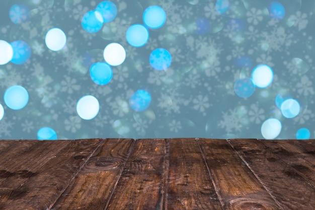 クリスマスのスタイルで素敵な光り輝く背景