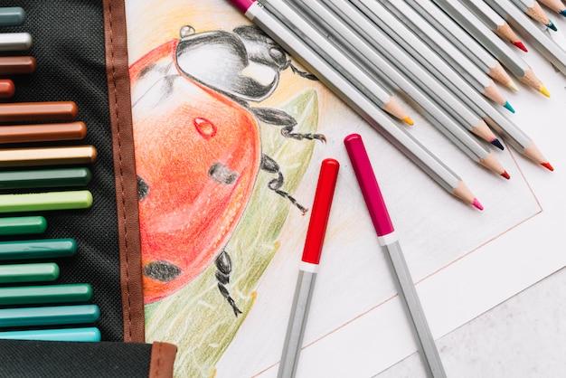 Состав карандашей