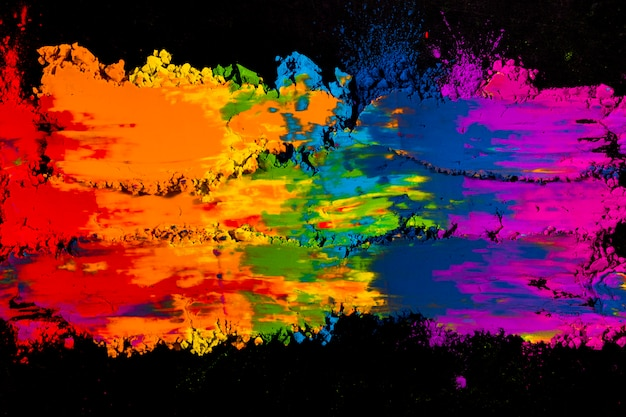 Яркий нечеткий смешанный красочный цвет холи