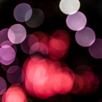 照らされた明るいボケ背景