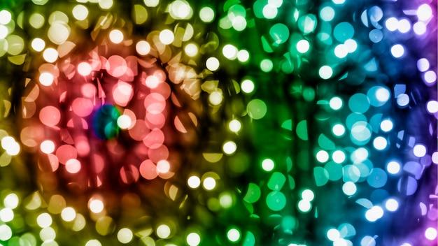 きらびやかな休日テクスチャクリスマス背景のボケ味