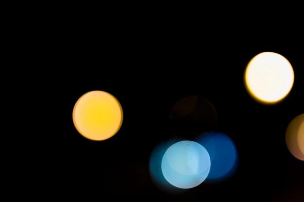 Абстрактный круговой боке
