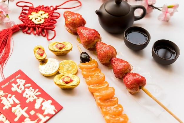 Пища для китайского нового года