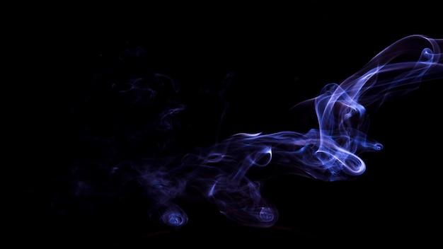 抽象的な紫色の煙テクスチャ背景