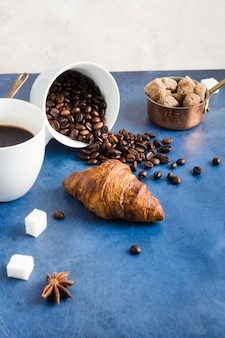 エレガントなコーヒーのコンセプト