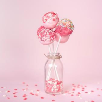 Креативный торт поп-концепция