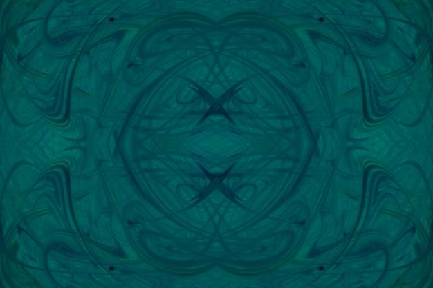 Калейдоскоп фон зеленый акварельные краски