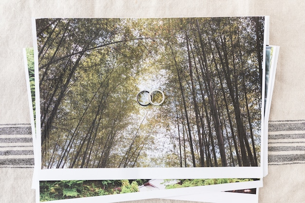 結婚指輪の装飾品