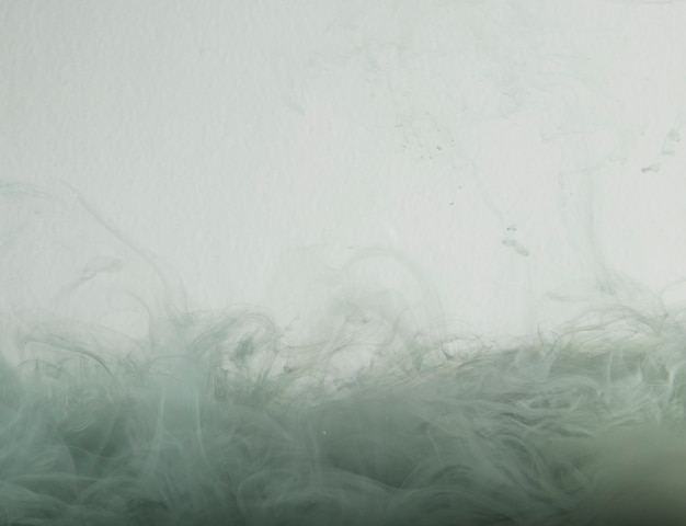 ヘイズの抽象的な灰色の雲