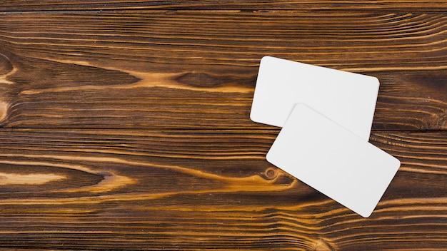 Пустой шаблон визитной карточки