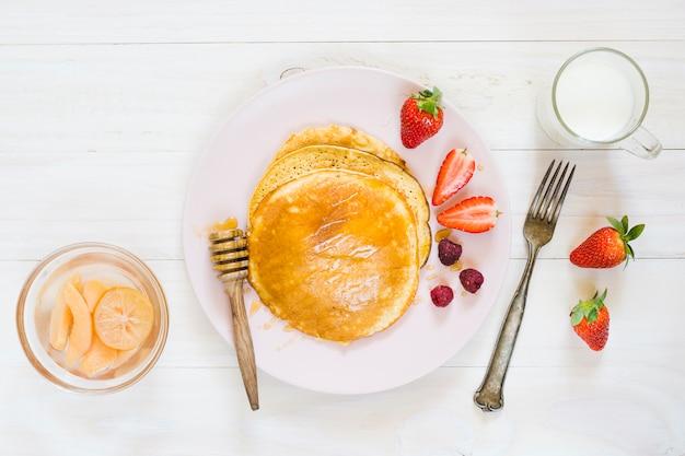Блинчики завтрак