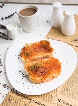 朝食の構成