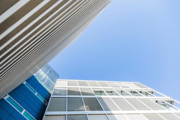 建物の底面図