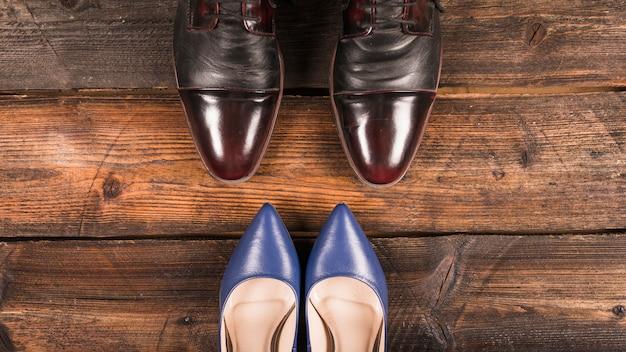 父の日靴と組成