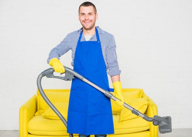 彼の家の掃除人の肖像画