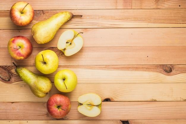 リンゴとナシ