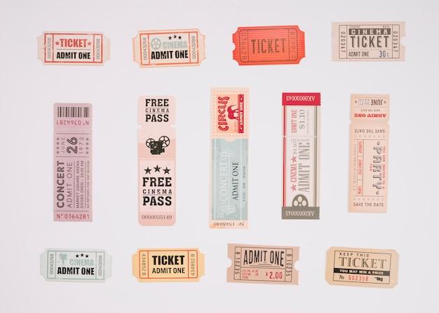 Винтажные билеты в кино
