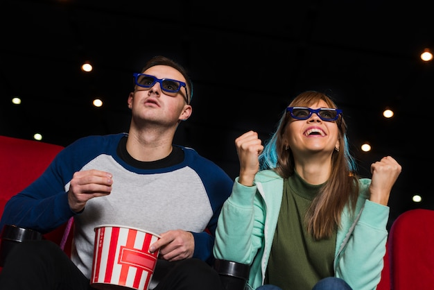 Пара в кино