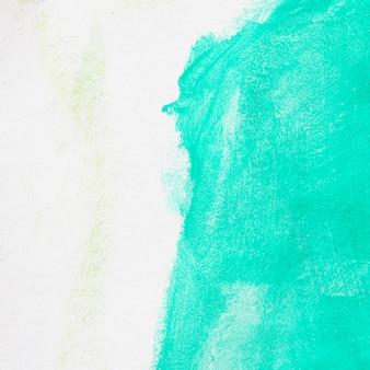 抽象的なグリーン水彩画の背景