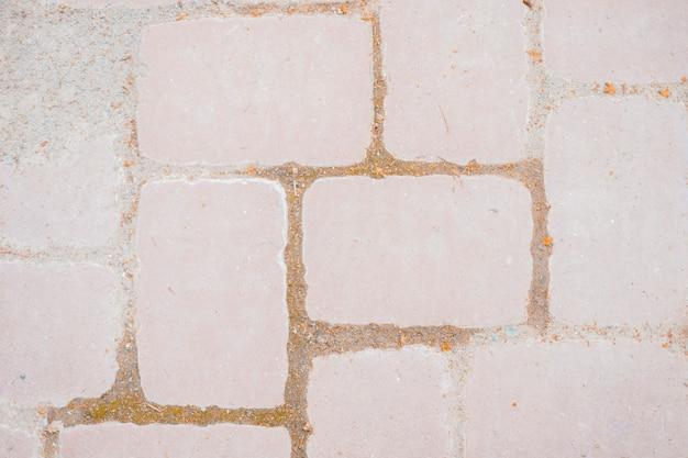 石造りの床のテクスチャ