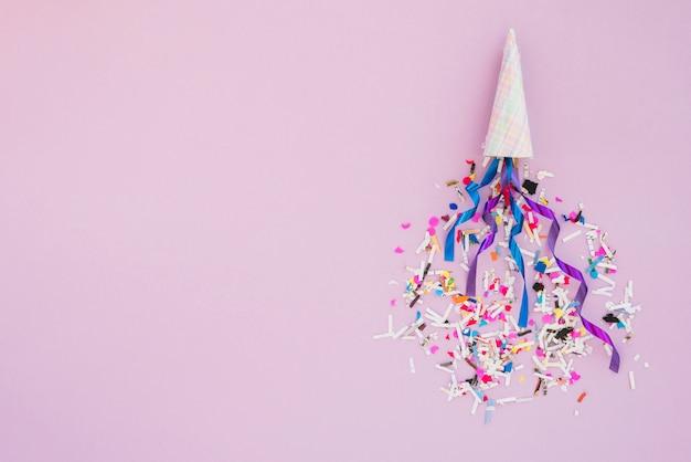 誕生日の飾り