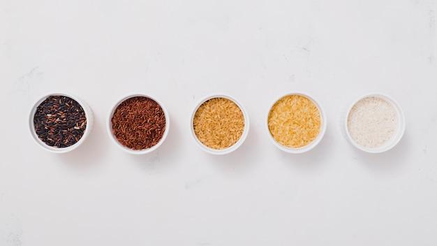 平干し米の組成
