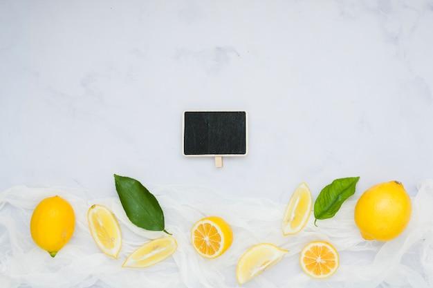 黒板トップレモン